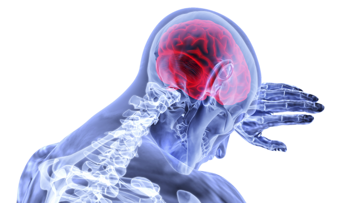 brain inflammation signs
